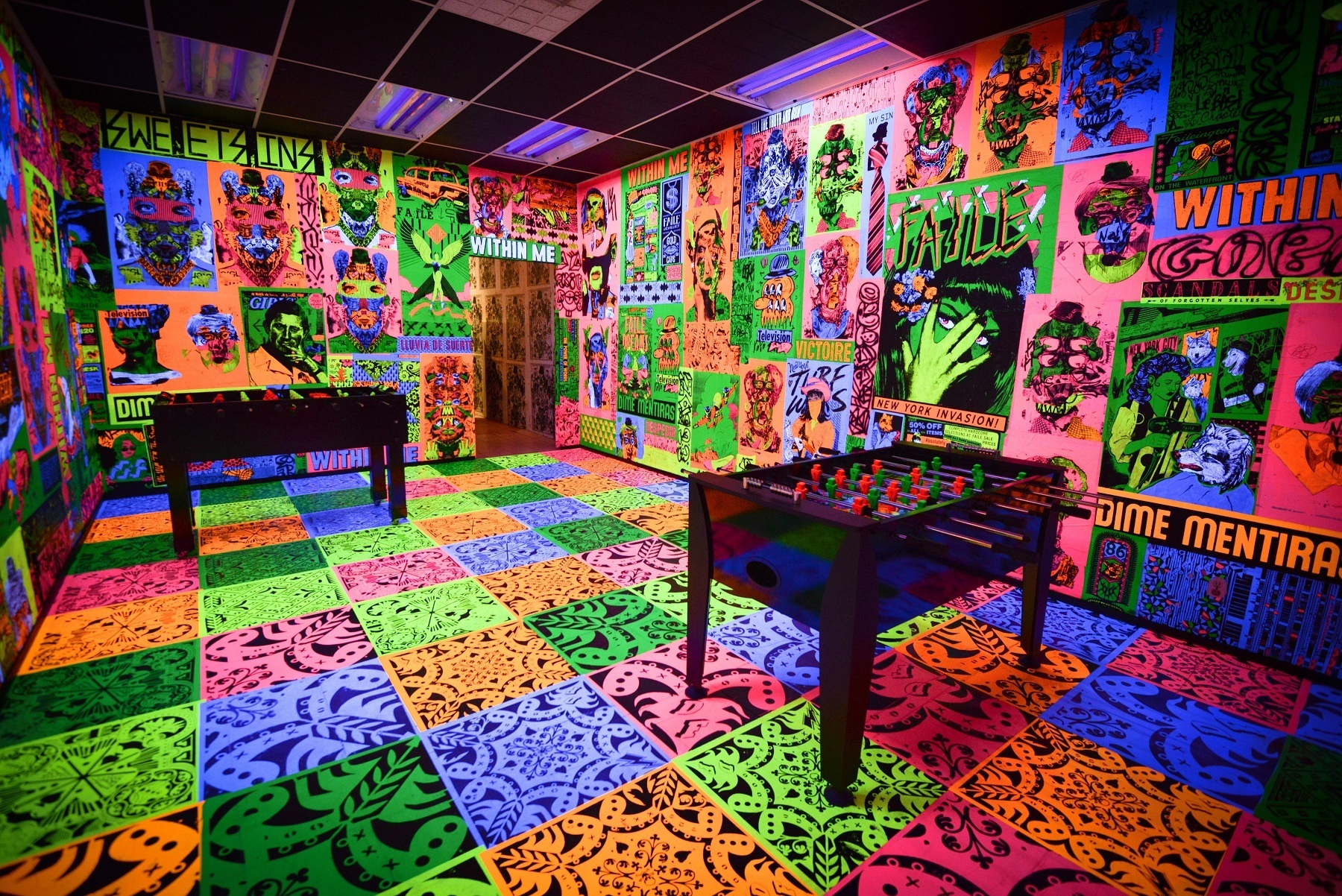THE FAILE BST DELUXX FLUXX ARCADE 2013 MIAMI BEACH PRESENTED BY PERRIER